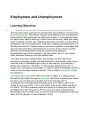 Employment and Unemployment.docx