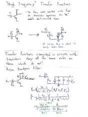 ECE 320 High Frequency Transfer Functions Notes
