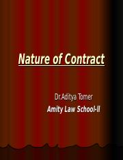 7107eNature of Contract.ppt