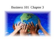 Business 101  Chapter 3