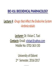 Lecture 4-Pharmacology