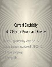 4.L2 Electric Power and Energy.pptx