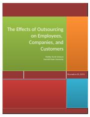 Research Papers_The Effects of Outsourcing.docx