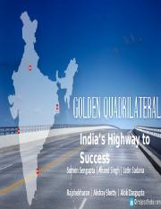 NHAI Golden Quadrilateral Final