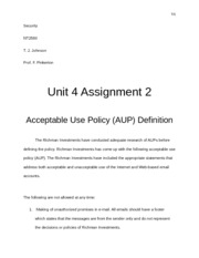 NT2580 Unit 4 Assignment 2 1.docx