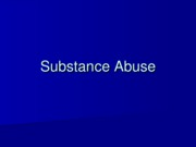 PP16 Substance Abuse