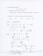 Math 201 Midterm Solutions