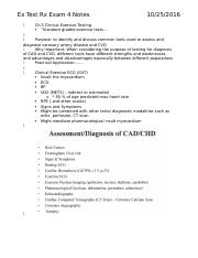 Ex Test Rx Exam 4 Notes.docx