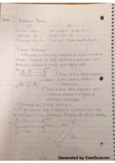 Rxn Forces and Space Trusses Lecture Notes