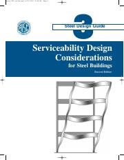 AISC Design Guide 03 - Serviceability Design Considerations For Steel Buildings - 2Nd Edition.pdf