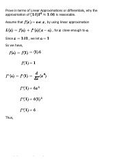 Solution for Chapter 3, 3.9 - Problem 30 - Single Variable Calculus, 6th Edition - eNotes.pdf