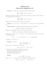 Homework 5 Solution on Theory of Partial Differential Equations