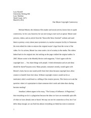 UW Conversation Essay Final Draft