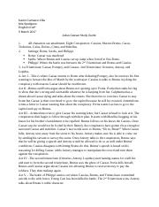 Study Guide for Julius Caesar.docx