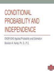 03 Conditional Probability