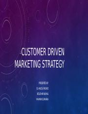 MARKETING CHAPTER 1 PR 1