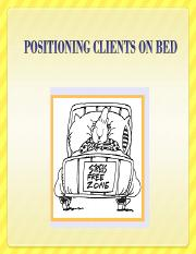 Positioning Clients (Edited)