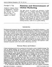 Patterns and determinants of global marketing.pdf