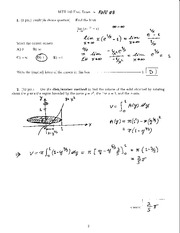 MTH 140 2008 Final Exam Solutions