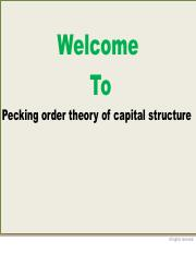 2.3 Pecking order theory of capital structure.pdf