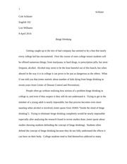 English 102 Research Paper 3