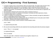 Lecture 1 C++ Programing