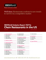 72211A Chain Restaurants in the US Industry Report