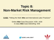 g202 Topic 8 Non market risks notes