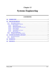 systems engr at a glance
