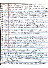 Geo 103 Class Notes- Extraterrestrial Objects