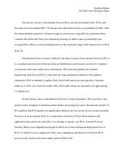 nt1430 unit 9 assignment research paper