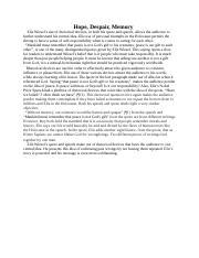 An essay on hope