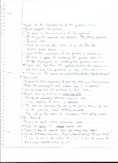 Possible Motions Notes