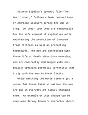 Paper on Iraq in the 21st Century