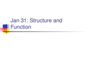 Lecture 2_3 S08 StructureFunction