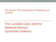 The+Murder+Trial+and+Appeals+of+Angelique+Lyn+Lavallee