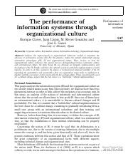 16. Performance IS through orgz culture.pdf