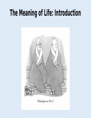 1) The Meaning of Life Introduction.pptx