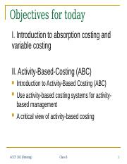 08_Overheads_Absorption Costing and Activity-Based Costing.ppt