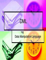 DML for students (1).ppt