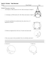 Circle Test Review (1)