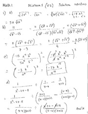 Midterm1 (V2) Solution