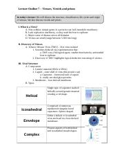 Outline7 - Viruses, viroids and prions.doc