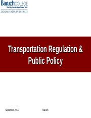 U S Government Agencies and Transportation.ppt
