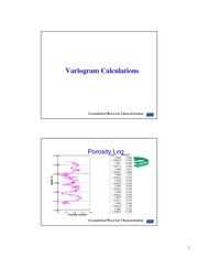 4.2 Variogram Calculations
