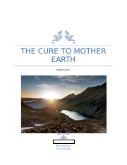 THE CURE TO MOTHER EARTH.docx