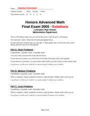 advmath-hon-finalexam2005-answers
