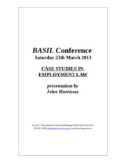 BASIL Conference