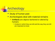 6._Archaeology