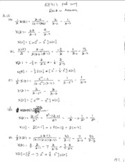 EE313 Fall 2009 HW_10  Answers